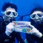 沖縄ダイビング☆ 11/12 青の洞窟体験ダイビング 15:00 しおん