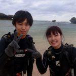 沖縄ダイビング 11/13 珊瑚体験ダイビング 3時半から 担当しおん