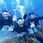 沖縄ダイビング☆11/26 サンゴ礁体験ダイビング 8時~ なすび・しおん