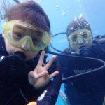 沖縄ダイビング☆12/29  サンゴ礁体験ダイビング  しおん