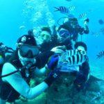 沖縄ダイビング☆12/31  砂辺 ビーチFUN なすび