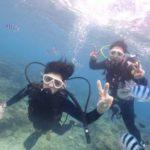 沖縄ダイビング☆1/14 サンゴ礁体験ダイビング  11:30~  ドラ