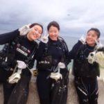 沖縄ダイビング☆ 2/28 珊瑚礁体験ダイビング 14時~ しおん・とも