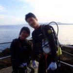 沖縄ダイビング☆2/3 青の洞窟体験ダイビング 8:00~ しおん