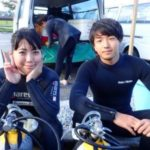 沖縄ダイビング☆ 2/19 青の洞窟体験ダイビング 8時~ しおん