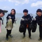 沖縄ダイビング☆2/27 青の洞窟体験ダイビング 12時半~ シオン・なすび