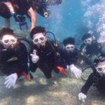 沖縄ダイビング☆2/27 青の洞窟体験ダイビング 15時〜 なすび・しおん