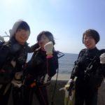 沖縄ダイビング☆2/2 サンゴ礁体験ダイビング 14時~ なすび