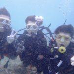 沖縄ダイビング☆2/8 サンゴ礁体験ダイビング 9時~ しおん・なすび