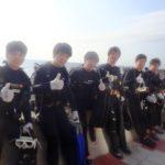沖縄ダイビング☆ 2/26 珊瑚礁体験ダイビング 15時~ なすび・しおん・とも