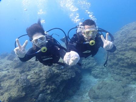 沖縄ダイビング☆3/22 珊瑚礁体験2ダイビング 8時~ どら