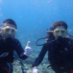沖縄ダイビング☆ 3/17 珊瑚礁体験ダイビング 10時半~ なすび