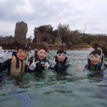 沖縄ダイビング☆3/5 珊瑚礁シュノーケル 15時半~ しおん