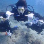 沖縄ダイビング☆3/13 珊瑚礁体験ダイビング 13時~ しおん
