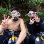 沖縄ダイビング☆3/3 青の洞窟体験ダイビング 12時~ とも