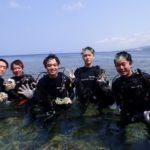 沖縄ダイビング☆3/21 青の洞窟体験ダイビング 10:30〜  シオン・とも・なすび