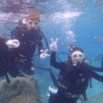 沖縄ダイビング☆3/8 珊瑚礁体験ダイビング 10時半~ しおん・りさ