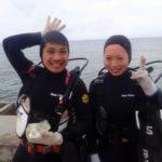 沖縄ダイビング 3/18 珊瑚礁体験ダイビング 15時半~ しおん