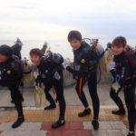 沖縄ダイビング☆3/17 珊瑚礁体験ダイビング 15時半~ しおん・とも