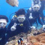沖縄ダイビング☆3/3 青の洞窟体験ダイビング 10時~ しおん・とも