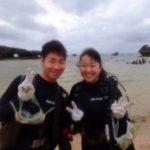 沖縄ダイビング☆ 3/6 珊瑚礁体験ダイビング 10時半~ なすび