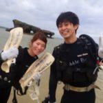 沖縄ダイビング☆ 3/6 珊瑚礁体験ダイビング 10時半~ しおん