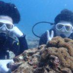 沖縄ダイビング☆3/14 珊瑚礁体験ダイビング 13時~ しおん