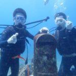 沖縄ダイビング☆3/14 珊瑚礁体験ダイビング 10時半~ りさ