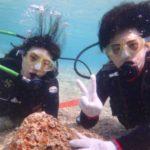 沖縄ダイビング3/19 サンゴ礁体験ダイビング 13時~  しおん