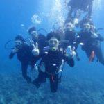 沖縄ダイビング☆3/2 青の洞窟体験ダイビング 15時半~ なすび・しおん