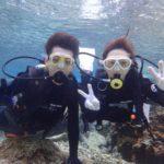 沖縄ダイビング☆3/5 珊瑚礁体験ダイビング 10時半~ とも