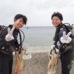 沖縄ダイビング☆3/9 珊瑚礁体験ダイビング 10時半~ りさ