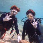 沖縄ダイビング☆3/12 珊瑚礁体験ダイビング 13時~ ドラ