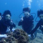 沖縄ダイビング☆3/12 珊瑚礁体験ダイビング 15時半~ しおん・ドラ