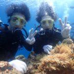 沖縄ダイビング☆3/21 青の洞窟体験ダイビング 10:30〜 ドラ