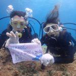 沖縄ダイビング☆3/22 珊瑚礁体験ダイビング 13時~ どら