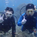 沖縄ダイビング☆3/22 珊瑚礁体験ダイビング 13時~ なすび