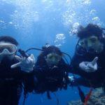 沖縄ダイビング☆3/28  青の洞窟体験ダイビング 13時~ なすび・しおん