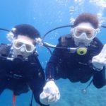 沖縄ダイビング☆ 4/23 青の洞窟体験ダイビング 10時~ しおん