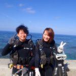 沖縄ダイビング☆ 4/18 珊瑚礁体験ダイビング 8時~ しおん