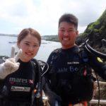 沖縄ダイビング☆4/18 青の洞窟体験ダイビング 10:00~ しおん