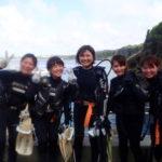 沖縄ダイビング☆4/29 青の洞窟体験ダイビング 15時~ しおん・なすび