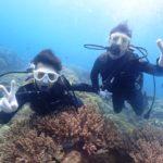 沖縄ダイビング☆ 4/13 珊瑚礁体験ダイビング 13時~ しおん
