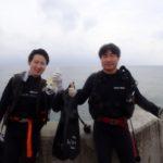 沖縄ダイビング☆4/28 サンゴ礁体験ダイビング 15時半~ なすび・ローラ