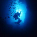 沖縄ダイビング☆4/19 青の洞窟体験ダイビング 13:00~ なすび