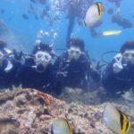 沖縄ダイビング☆5/27 青の洞窟体験ダイビング 13時〜 トモ・しおん・ローラ
