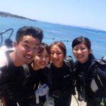 沖縄ダイビング☆ 5/22 珊瑚礁体験ダイビング 10時~ しおん・みつ・ローラ