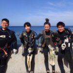 沖縄ダイビング☆5/4 珊瑚礁体験ダイビング 8時~ なすび・しおん