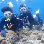 沖縄ダイビング☆5/18 青の洞窟体験ダイビング 10時~ なすび・ローラ