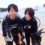 沖縄ダイビング☆5/1 青の洞窟体験ダイビング 15時~ ドラ